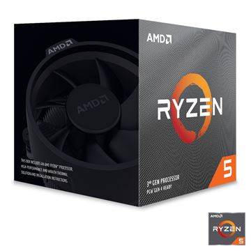 Picture of AMD Ryzen 5 3600X 3,8/4,4GHz 32MB AM4 Wraith Spire hladilnik BOX procesor