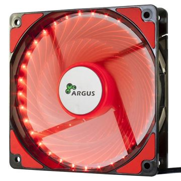 Picture of INTER-TECH Argus L-12025 RD rdeč LED ventilator