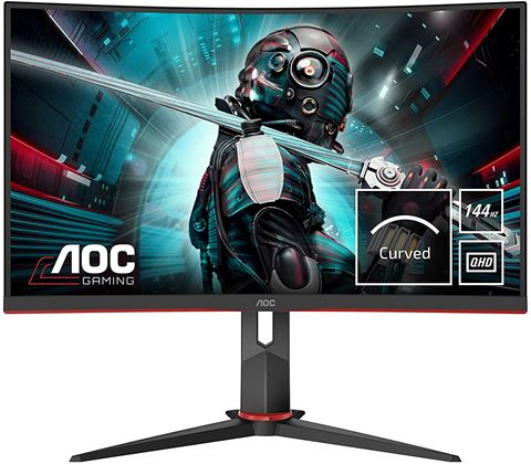 Picture of AOC CQ27G2U 27'''' ukrivljen gaming monitor