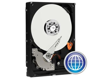 "Picture of WD Blue 1TB 3,5"" SATA3 64MB 7200rpm (WD10EZEX) trdi disk"