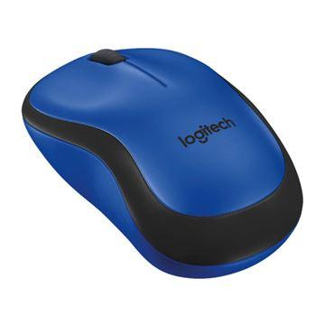 Picture of LOGITECH M220 Silent brezžična optična modra miška