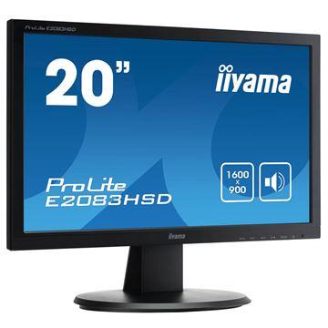 Picture of IIYAMA ProLite E2083HSD-B1 49,4cm (19,5'''') LED zvočniki LCD monitor