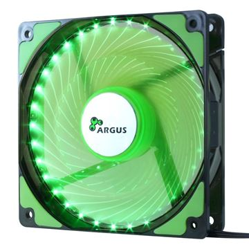 Picture of INTER-TECH Argus L-12025 GR zelen LED ventilator