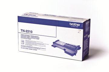 Picture of TONER BROTHER ČRN ZA HL-2240D,2250DN ZA 1.200 STRANI (TN2210)