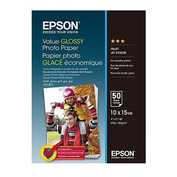 Picture of PAPIR EPSON FOTO GLOSSY 10x15cm 50 LISTOV 183 g/m2 (C13S400038)