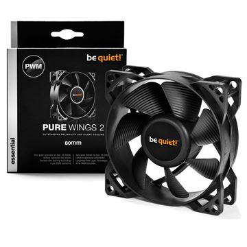 Picture of BE QUIET! Pure Wings 2 (BL037) 80mm 4-pin PWM ventilator
