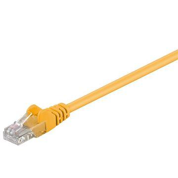Picture of GOOBAY U/UTP CAT 5e patch 5 m rumeni mrežni povezovalni kabel