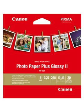 Picture of Papir CANON PP-201 SQUARE (13x13 cm); high gloss / 265 gsm / 20 listov (2311B060AA)