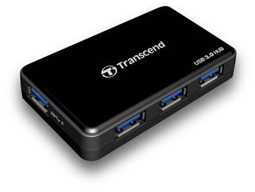 Picture of USB RAZDELILEC 1-V-4 TRANSCEND, USB HUB -  razdelilnik 3.0