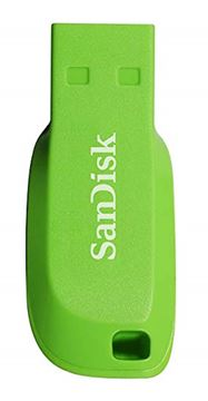 Picture of USB DISK SANDISK 16GB CRUZER BLADE ZELENA, 2.0, zelen, brez pokrovčka
