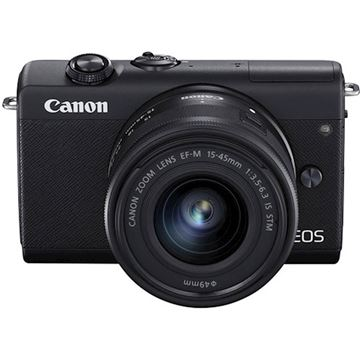 Picture of CANON EOS M200 z objektivom EFM15-45IS STM ČRN