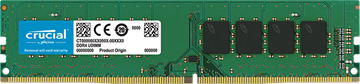Picture of Crucial 4GB DDR4-2400 UDIMM PC4-19200 CL17, 1.2V Single Ranked