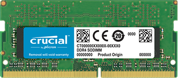 Picture of Crucial 4GB DDR4-2400 SODIMM PC4-19200 CL17, 1.2V