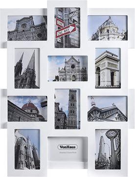Picture of VonHaus foto okvir za 12 slik 10x15cm bel