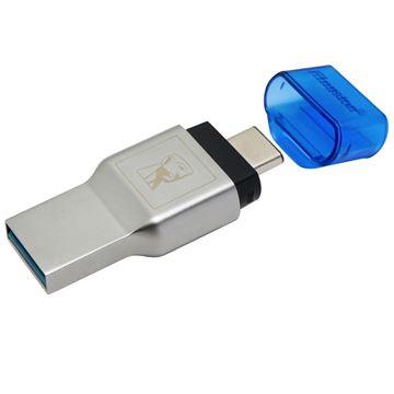 Picture of KINGSTON FCR-ML3C USB 3.1 MobileLite Duo 3C MicroSD SDHC SDXC Type-C prenosni čitalec kartic