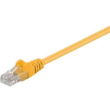 Picture of GOOBAY U/UTP CAT 5e patch 0,5 m rumen mrežni povezovalni kabel