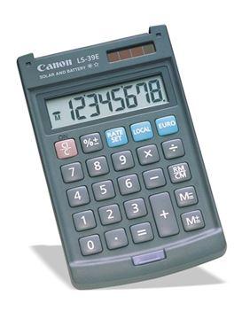 Picture of Kalkulator CANON LS39E žepni