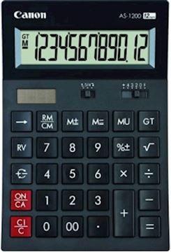 Picture of Kalkulator CANON AS1200 namizni brez izpisa