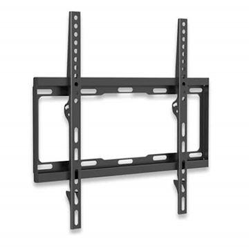 Picture of Stenski fiksni TV nosilec32''''-55'''' MANHATTAN, 40kg, črne barve, ultra tanek