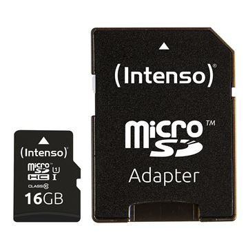 Picture of Intenso 16GB microSDXC UHS-I Class 10 Premium spominska kartica