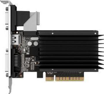 Picture of nVidia GT710 2GB DDR3 Gainward SilentFX VGA DVI-D HDMI - pasivna